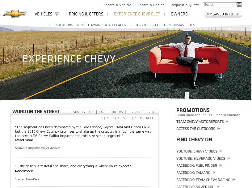 chevy.com