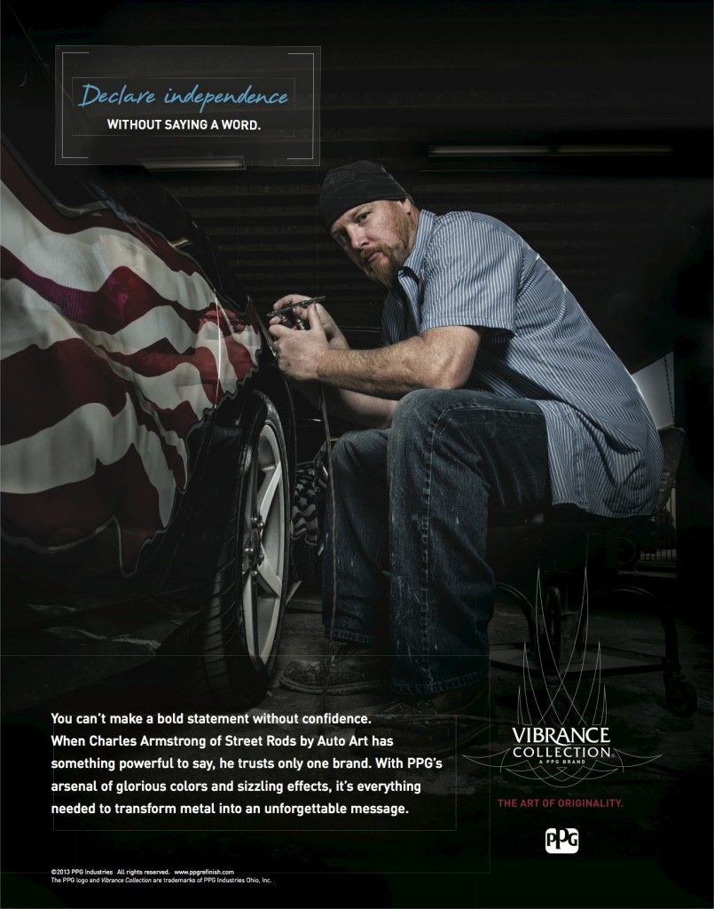 Declare Independence, Vibrance Collection Print Ad