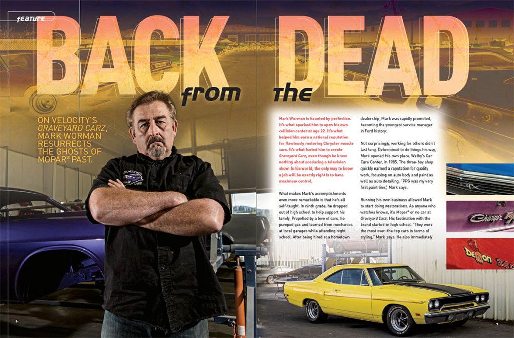 """Back from the Dead"" Mark Worman and Graveyard Cars Profile"