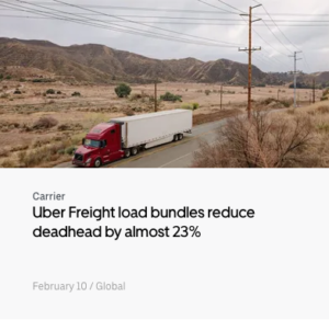 Uber Freight load bundles (blog)